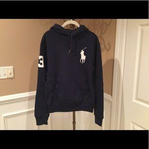 Polo by Ralph Lauren Shirts - Polo Hooded Sweatshirt - Small